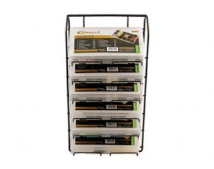 Connect 35017 Assorted Box Rack 6 Tier To Suit Trim Clip Boxes